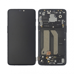 New product for OnePlus 6 original replacement screen display LCD digitizer complete with frame