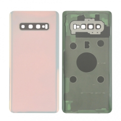 Wholesale price for Samsung Galaxy S10 Plus back housing cover with camera lens adhesive